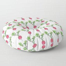 radishes Floor Pillow
