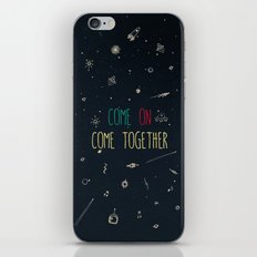 2. come together iPhone & iPod Skin