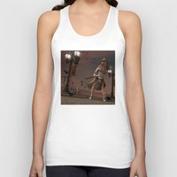 steam punk Tank Tops featuring Steam Punk - The Crows by J. Ekstrom