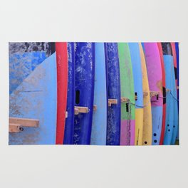 Color surf Rug