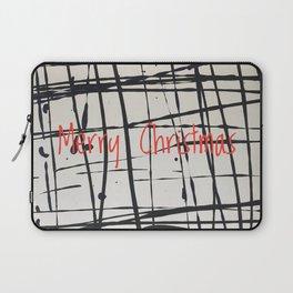 Best foot forward - Merry Christmas Laptop Sleeve