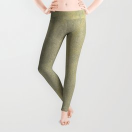 Champagne Skies Silver And Gold Metallic Plasters - Fancy Faux Finishes Leggings