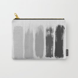 Black & White Stripes Carry-All Pouch