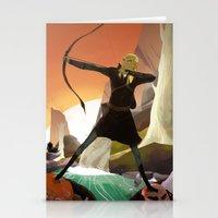 legolas Stationery Cards featuring Legolas by maracass