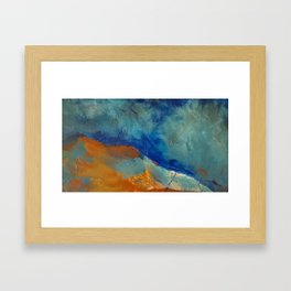 Brume Framed Art Print