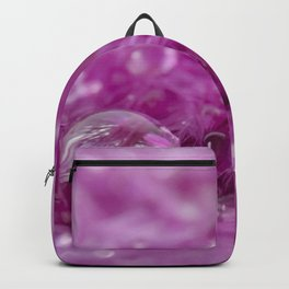 Drops in feathers Backpack