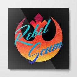Star Wars Rebel Scum in Black Metal Print
