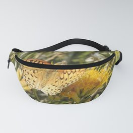 Butterfly, painted lady, wildlife, gifts Fanny Pack