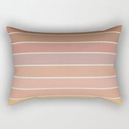 Gradient Arch - Natural Tones Rectangular Pillow
