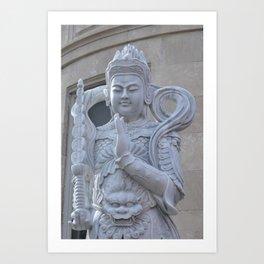 Budda of Park Slope Art Print