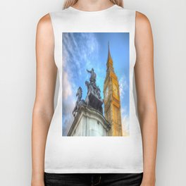 Big Ben and Boadicea Statue  Biker Tank