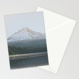 Trillium Lake Sunrise - Nature Photography Stationery Cards