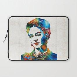Frida Kahlo Art - Viva La Frida - By Sharon Cummings Laptop Sleeve