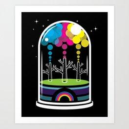 Toy City Art Print