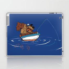Bear Fishing Laptop & iPad Skin