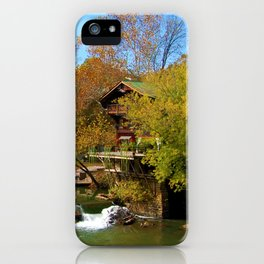 Autumn Beauty on The Big River iPhone Case