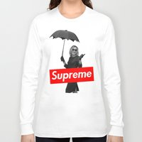 supreme Long Sleeve T-shirts featuring The Supreme by Dandy