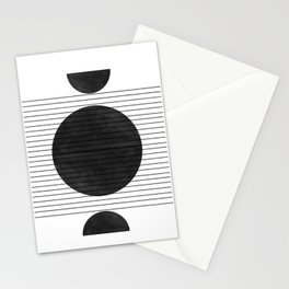 Balance and Space Stationery Cards