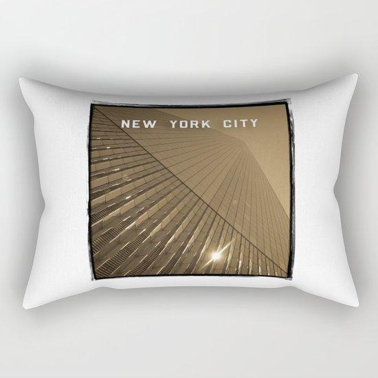 World Trade Center Reborn - New York City Rectangular Pillow