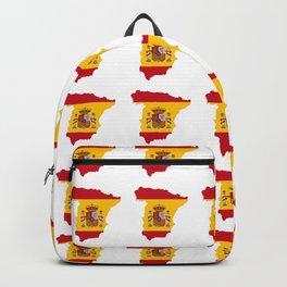 Flag of spain 3-spain,espana, spanish,plus ultra,espanol,Castellano,Madrid,Barcelona Backpack