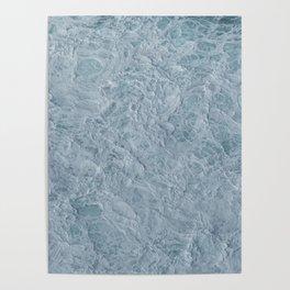 Foaming Seas Poster