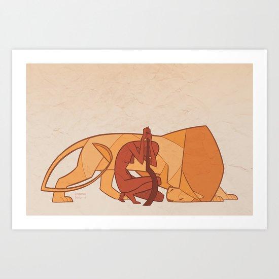 Astarte Art Print