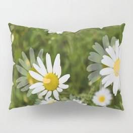 Daisies in a Blur Pillow Sham