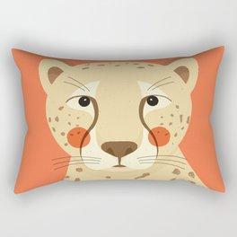 Cheetah, Animal Portrait Rectangular Pillow
