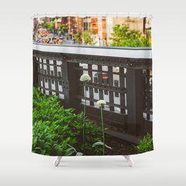 Highline Blooms Shower Curtain