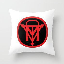 The Dark Mammal Logo Throw Pillow