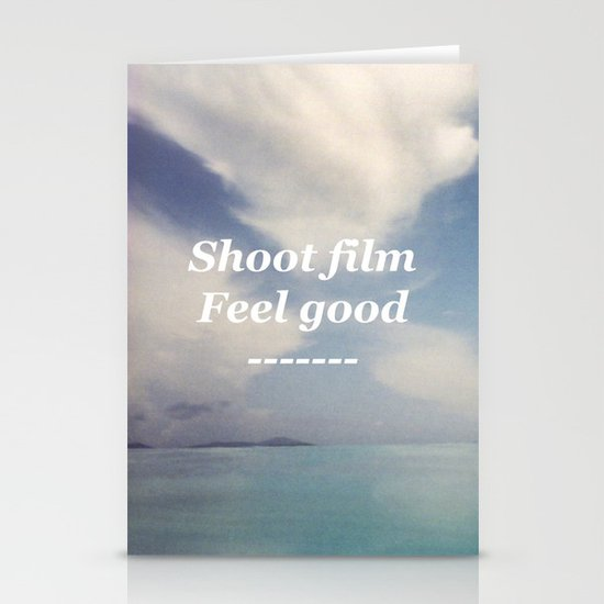 Shoot Film, Feel Good Stationery Cards