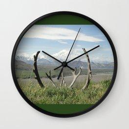 Alaska Mt. Denali Wall Clock