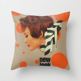 New Look Throw Pillow