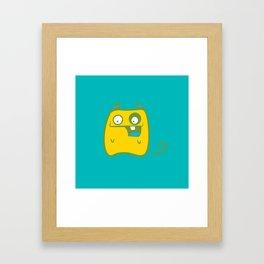 cutie monster_03 Framed Art Print