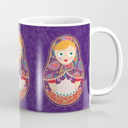 Russia meets India Coffee Mug