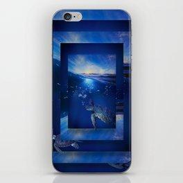 Swim the Seas iPhone Skin