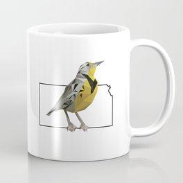 Kansas – Western Meadowlark Coffee Mug