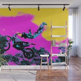 Letting Go - Freestyle Motocross Stunt Wall Mural