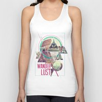 wanderlust Tank Tops featuring Wanderlust by Kristen Williams