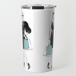 Shopping Girls Travel Mug