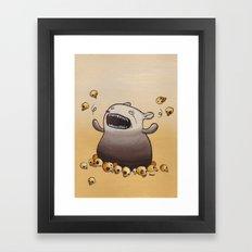 Mr. Friendly Framed Art Print