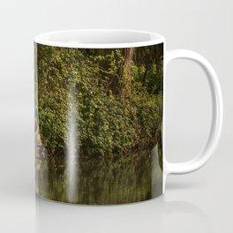 Dinghy On The Oxford Canal Coffee Mug