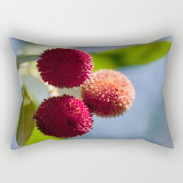 Strawberry tree fruits 8697 Rectangular Pillow