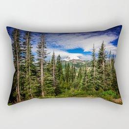 Mt Rainier National Park Rectangular Pillow