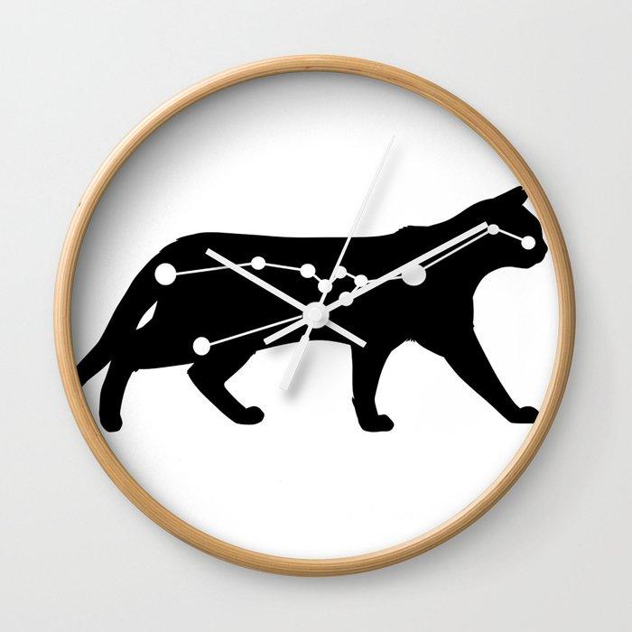 taurus cat Wall Clock
