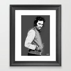 Prince Vince Framed Art Print