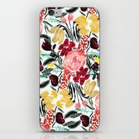 garden iPhone & iPod Skins featuring Wild Garden II by Bouffants and Broken Hearts