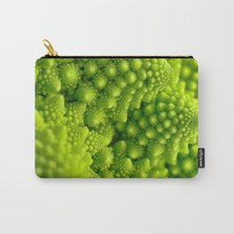 Macro Romanesco Broccoli Carry-All Pouch