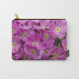 Pink Primulas Carry-All Pouch