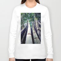 bamboo Long Sleeve T-shirts featuring bamboo by Dinesh